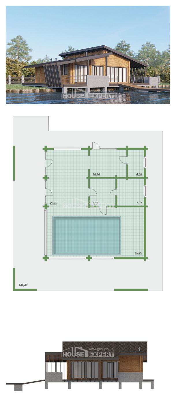 Проект дома 100-007-П   House Expert